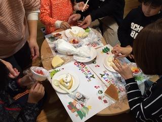クリスマス会 ケーキ①.JPG